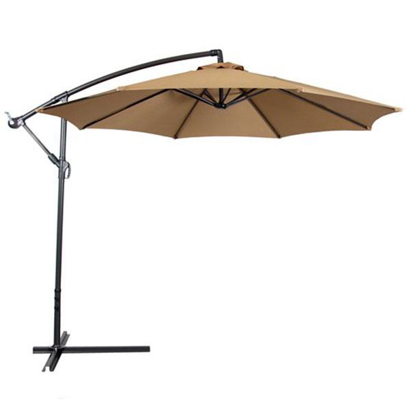 Best Choice 10′ Polyester Offset Patio Umbrella
